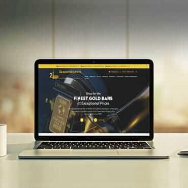 Eccentric Web Development Portfolio - 24 Gold Group