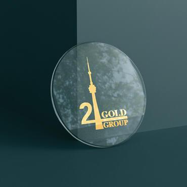 Eccentric Branding Portfolio - 24 Gold Group