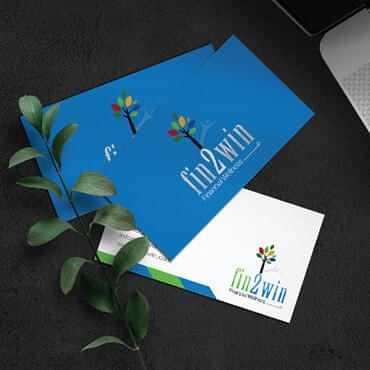 Eccentric Graphic Design Portfolio -  Fin2Win